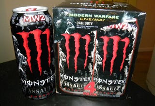 Illustration for article titled The Official Energy Drink Of Modern Warfare 2