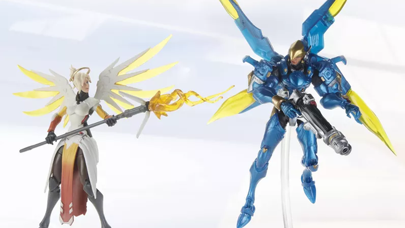 Illustration for article titled Hasbro Is Releasing Overwatch Action Figures Later This Year
