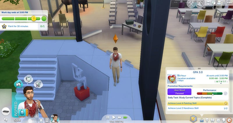 Illustration for article titled Mod Adds College System To The Sims 4