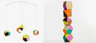 Illustration for article titled Hang These Polyhedrons Wherever You Need Some Colorful Geometry