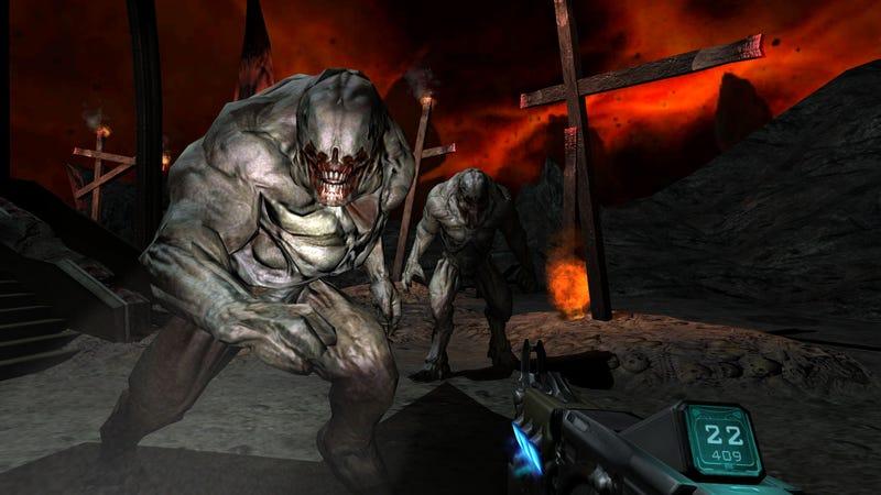Illustration for article titled It Looks Like Doom 3, But Better