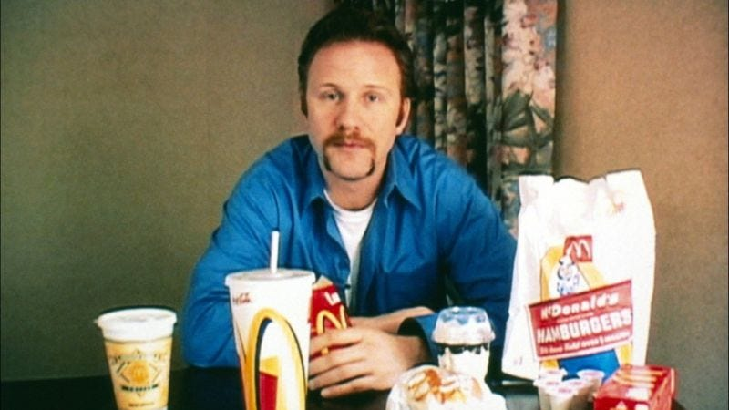 Illustration for article titled Morgan Spurlock's new gimmick is giving movies away for free