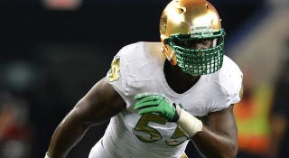 Illustration for article titled Lowsman Trophy Watch: Another Notre Dame LB Steps Up