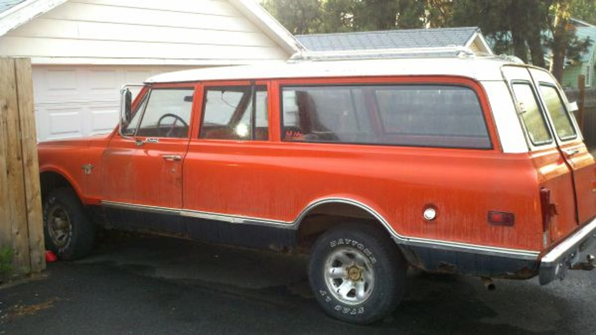 For 1800 Become A Suburban Legend 1968 Chevy 4x4