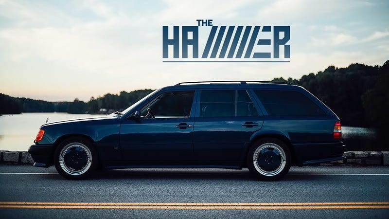 This 1987 Amg Hammer Wagon Is A Hero From Another Time