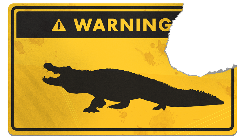 Illustration for article titled How to Survive an Alligator Attack