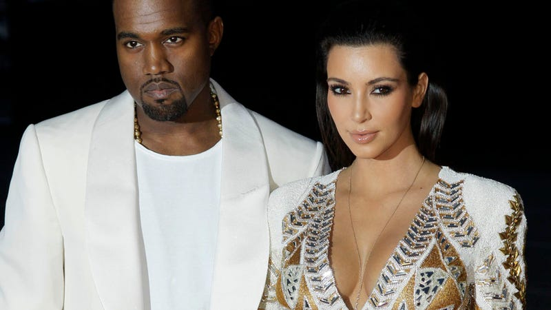 Illustration for article titled Kim Kardashian Pregnant with Kanye West's Baby, Ray J. Issues His Condolences