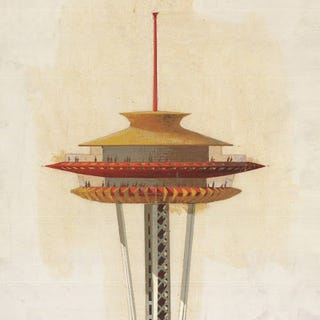 Illustration for article titled Century 21: Space Needle Designs (1962)