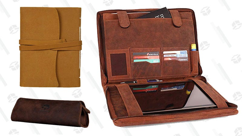 Leather Journals Gold Box   Amazon