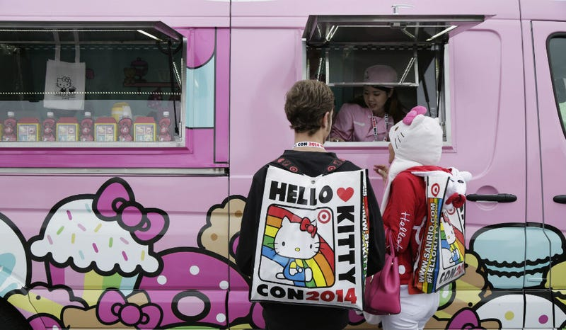Illustration for article titled The Hello Kitty Cafe is Coming to California in 2015