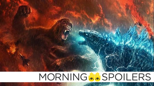 Updates From Godzilla vs. Kong, Superman & Lois, and More