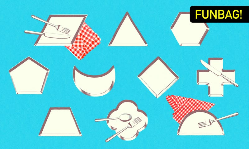 Illustration for article titled What Is The Best Plate Shape?