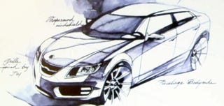 Illustration for article titled 2010 Saab 9-3X, 9-5 Confirmed For 2009 European Lift-Off