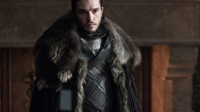 Illustration for article titled Major Continuity Error: HBO Is Apologizing In Advance For A Scene In The 'Game Of Thrones' Finale Where Jon Snow's Cell Phone Goes Off And His Ringtone Is A 16-Bit Version Of The Show's Theme Song