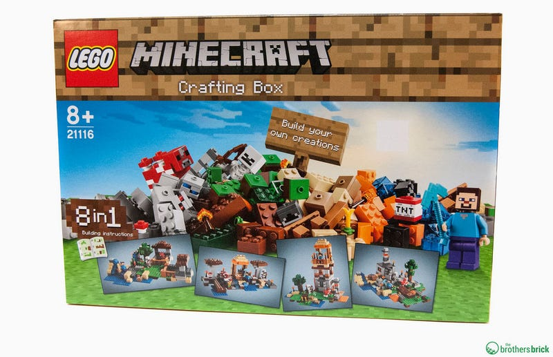 Illustration for article titled New Minecraft LEGO Kinda Misses The Point Of LEGO