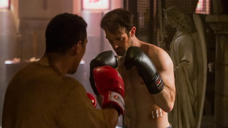 Charlie Cox as Matt Murdock in Daredevil.