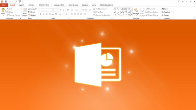 how to make a photo slideshow using powerpoint