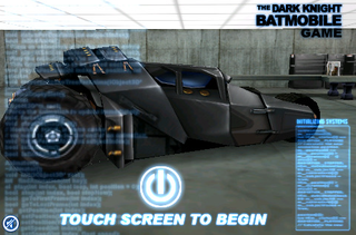 Illustration for article titled Pilot the Batmobile With Your iPhone For $0.99