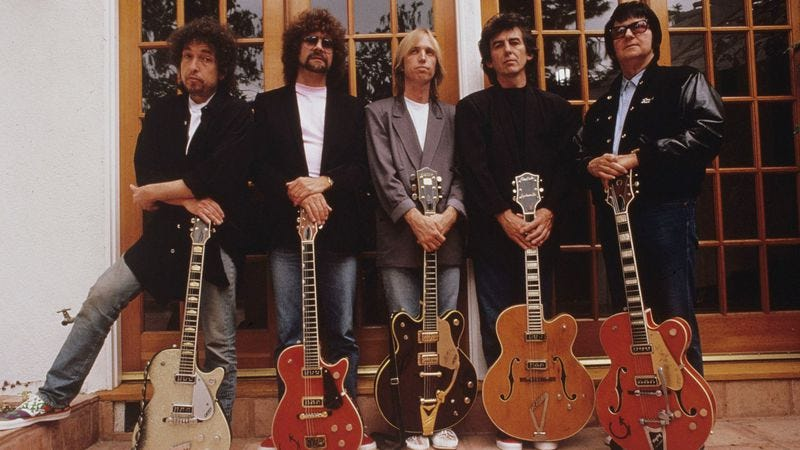 "The Traveling Wilburys came to terms with death on ""End Of The Line"""