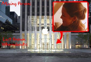Illustration for article titled Missing NYC Teacher Shows Upp At Apple Store