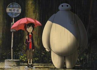 Illustration for article titled Un artista de Disney rinde homenaje aStudio Ghibli con esta ilustración