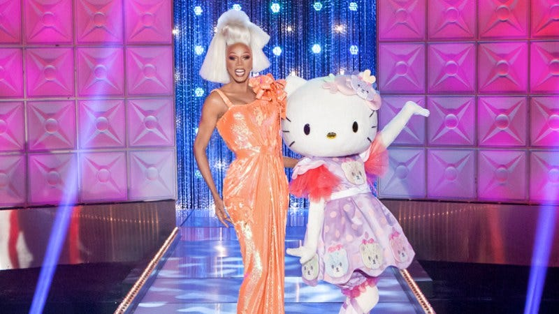 "Illustration for article titled RuPaul's Drag Race: ""Hello, Kitty Girls!"""