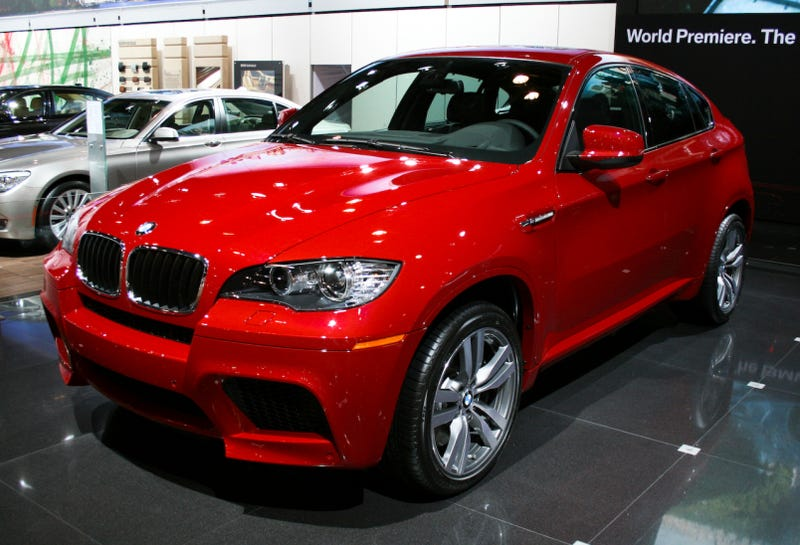 Bmw X6 M Popping The Top On The Mighty 555 Hp Engine