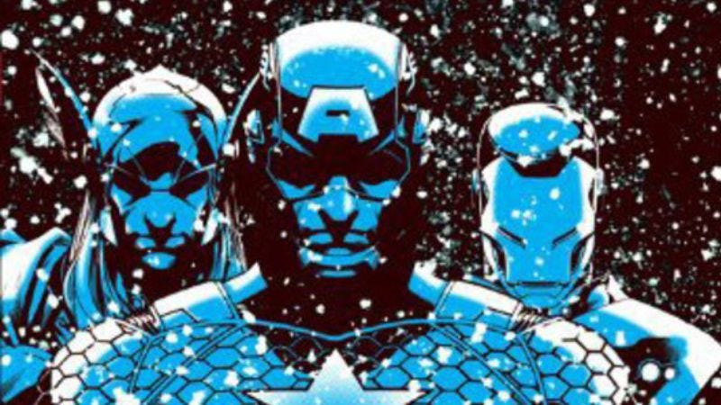 Illustration for article titled New releases include Warren Ellis' disappointing Avengers graphic novel and Seth's latest Palookaville