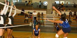 Spelman volleyball (Spelman Athletics)