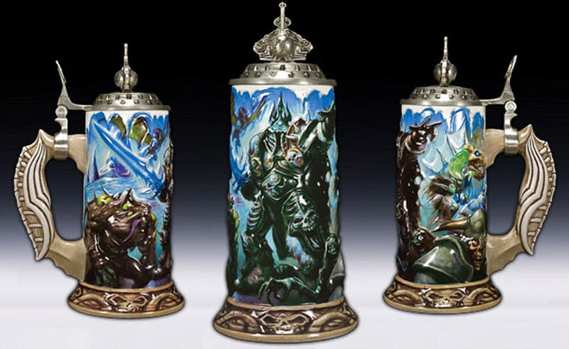 Illustration for article titled World Of Warcraft In Beer Stein Form