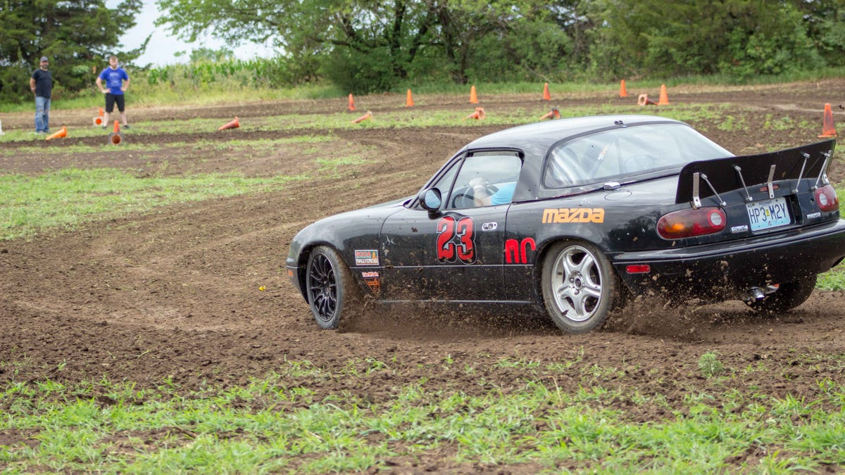Any Car Can Be a Rallycross Car if You Believe in Yourself