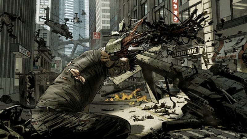 Illustration for article titled Massive collection of Akira concept art shows the movie that never was