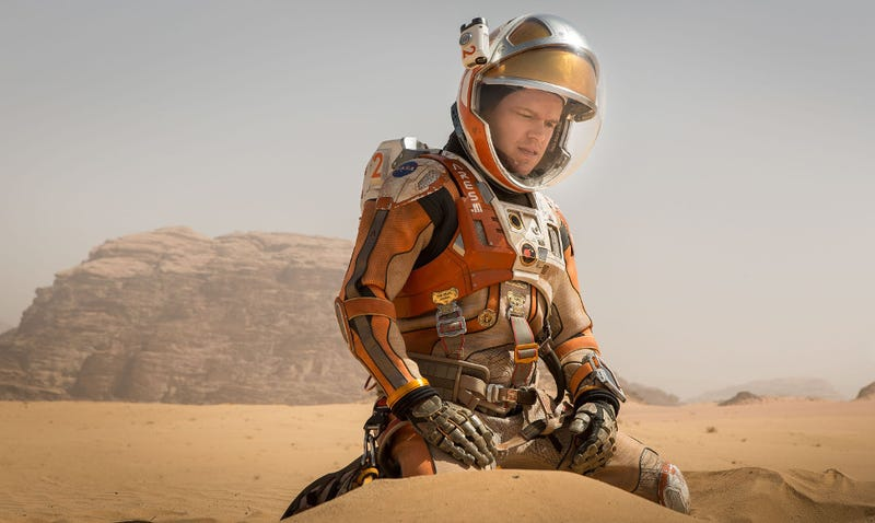 Mark Watney, portrayed by Matt Damon, was probably more out of shape than we realized. (Image: The Martian)