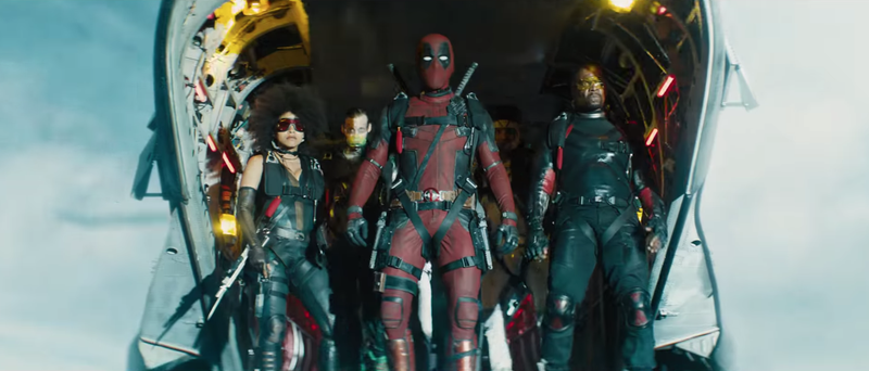 Definitely the X-Force. Screenshot: Deadpool 2