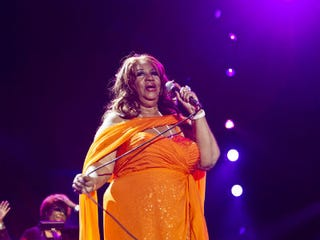 Aretha Franklin at Essence Festival (Skip Bolen/WireImage/Getty)