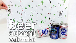 Illustration for article titled DIY Beer Advent Calendar Fills the Season with Joy