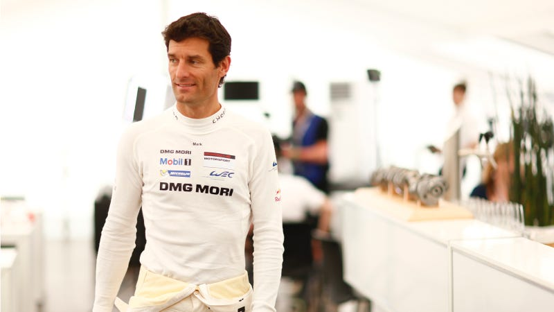 Illustration for article titled Spectacular Crash In Brazil Gave Mark Webber Bruising And A Concussion