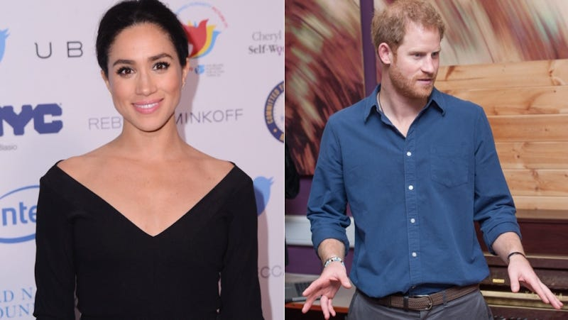 Name of actress dating prince harry