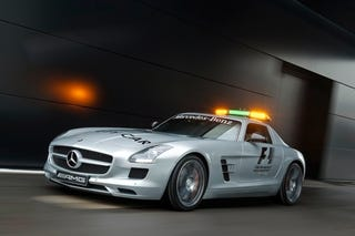 Illustration for article titled Mercedes SLS AMG F1 Safety Car: More POWER!
