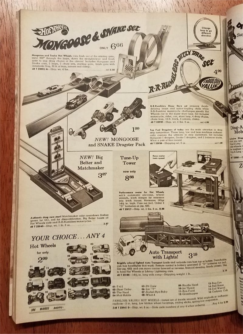 Surprise Saturday: Vintage Diecast in old Christmas catalogs - Part 2