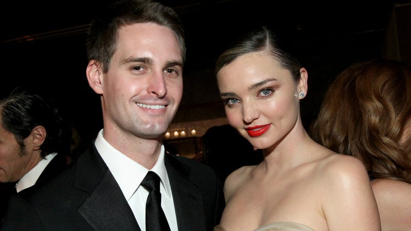 Why Evan Spiegel Miranda Kerr aren't having sex