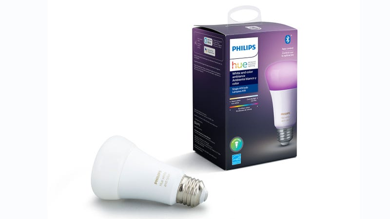While the boxes for its new bulbs look similar to existing products, users looking to skip the hub will want to look out for Bluetooth icon in the top right corner.