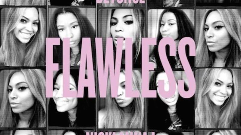 "Illustration for article titled Beyoncé Talks Elevator Fiasco In ""Flawless"" Remix Featuring Nicki Minaj"