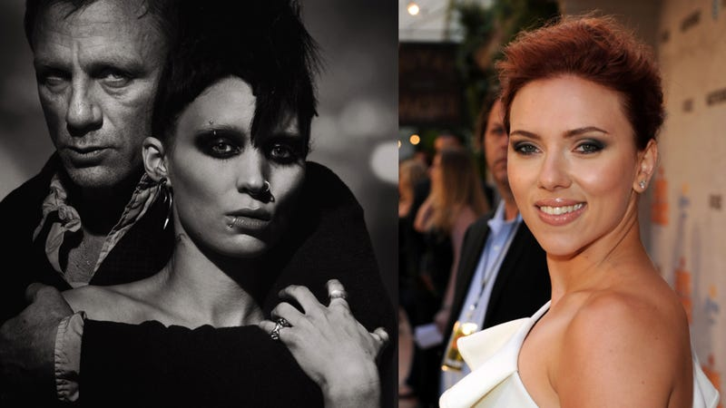 Illustration for article titled David Fincher:  ScarJo Was Too Sexy For Dragon Tattoo Role