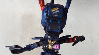 Illustration for article titled This Adorable Chibi-Chappie Is The Cutest Little Robot Around