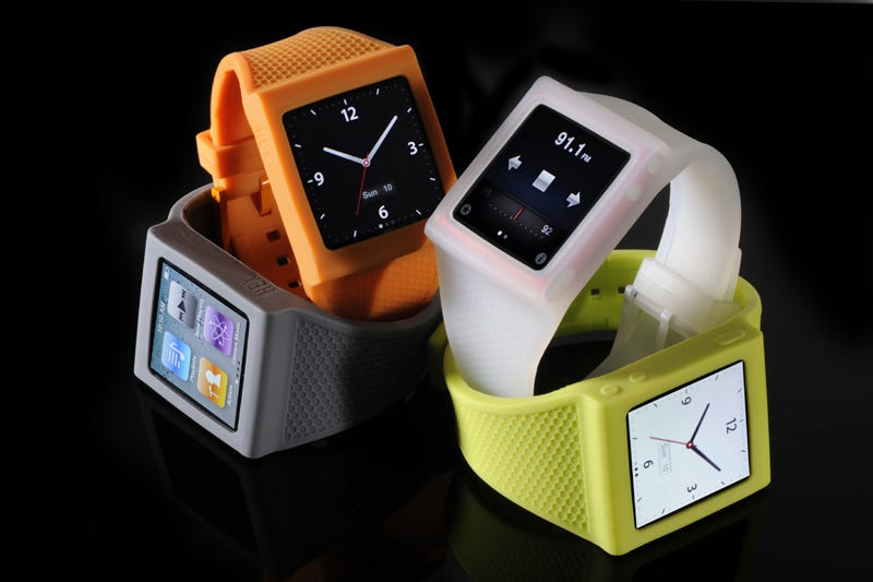 Illustration for article titled The New and Improved iPod Nano Watch