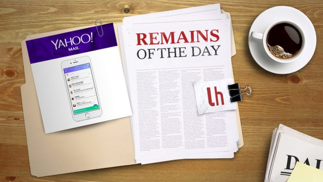 Remains of the Day: Yahoo Mail for iOS Can Now Unsend Messages
