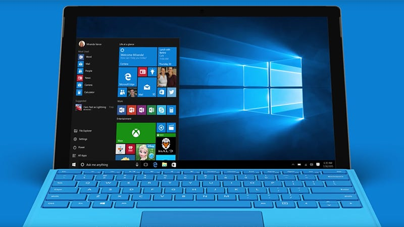 "Illustration for article titled 12 cosas geniales que puedes hacer después de actualizar a Windows 10 ""Anniversary Update"""