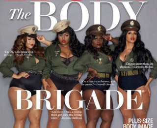 Gabi Fresh, Jazmine Sullivan, Danielle Brooks and Chrisette Michelle grace the cover of the March 2016 edition of Ebony magazine.Twitter