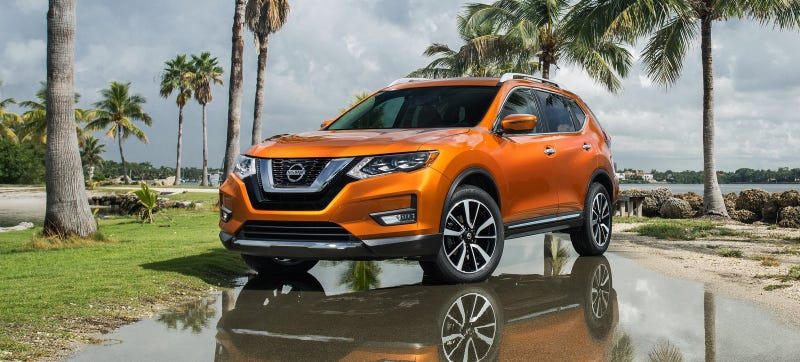The Nissan Rogue is currently America's fourth-best-selling vehicle, just shy of the Big 3's trucks. Photo Credit: Nissan